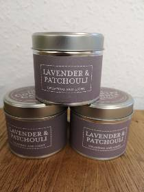 Lavender and Patchouli.